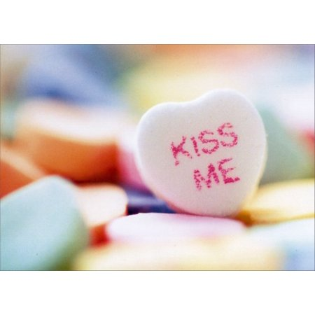 Avanti Press Kiss Me Candy Heart Valentine's Day Card](Big Valentines Day Cards)