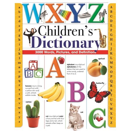 Word Game Dictionary (Children's Dictionary : 3,000 Words, Pictures, and Definitions )