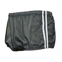 Adoretex Men's Polymesh Training Drag Suit Swimwear (MT002) - Black/white - 24