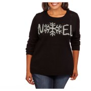 Holiday Women's Plus NOEL Pullover Sweater