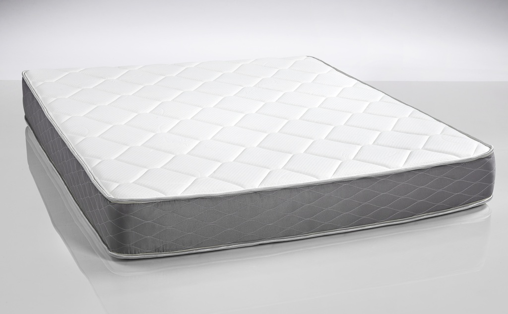 """DreamFoam Spring Dreams 9"""" Pocketed Coil Mattress, Queen by Brooklyn Bedding"""