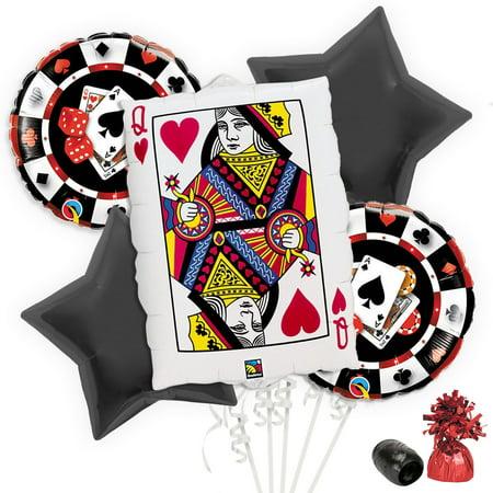 Casino Balloon Bouquet Kit - Casino Balloons