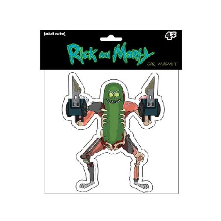 Rick and Morty CAR MAGNET, EXACTO BLADES PICKLE RICK - Licensed Original Artwork (Car Magnets Cheap)