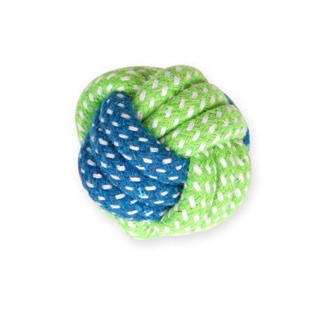 Pet Toy Dog Chews Cotton Rope Knot Ball Grinding Teeth Odontoprisis Pet Toys Funny Dog Bite Rope Universal Pet Supplies - image 1 de 5