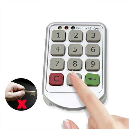 Dilwe intelligent Digital Electronic Password Keypad Number Cabinet Door Code Locks,Cabinet Door Code