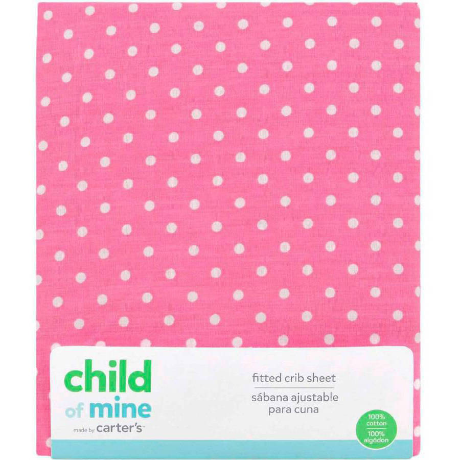 Child of Mine by Carter's Little Birds and Friends Fitted Crib Sheet