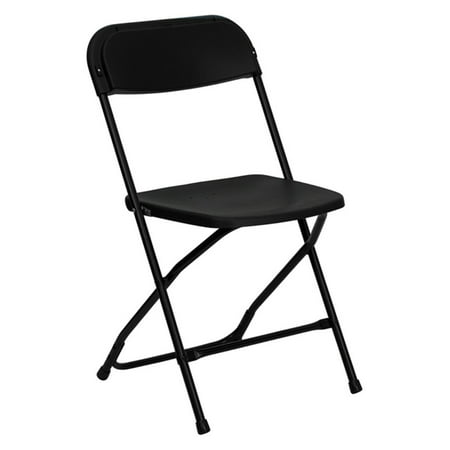 - Flash Furniture HERCULES Series 800 lb Capacity Premium Plastic Folding Chair, Multiple Colors