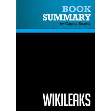 Summary of Wikileaks: Inside Julian Assange's War on Secrecy - David Leigh and Luke Harding - - Julian Assange Halloween