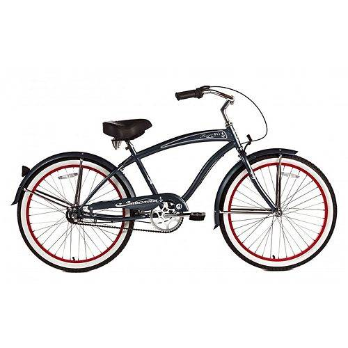 Stainless Steel Beach Cruiser in Gray