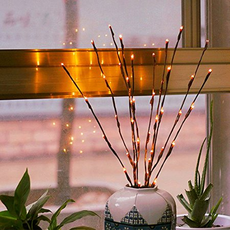 Branch Lights Led Branches Battery Powered Decorative Lights
