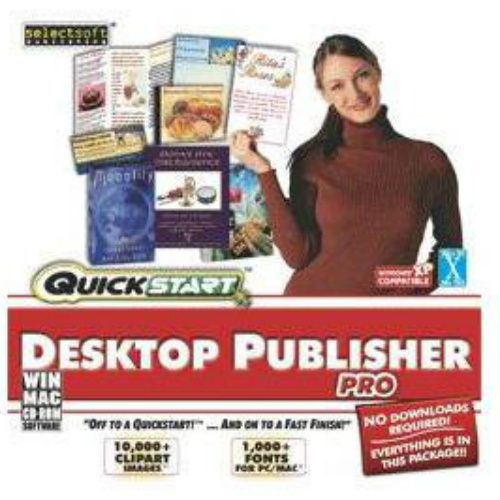 SelectSoft QuickStart: Desktop Publisher Pro (Windows) (Digital Code)