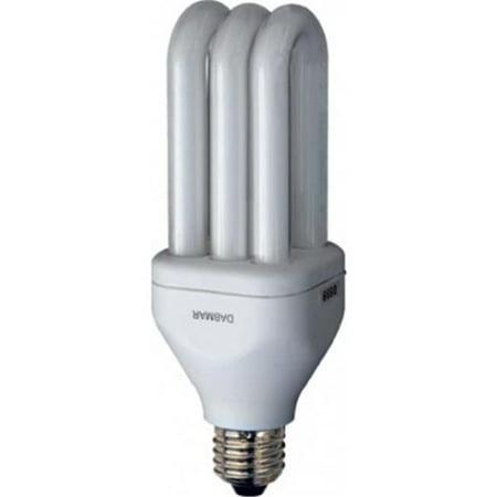 B18-64K CFL Medium Base Self Ballasted Electronic 18 watt 120 V 64K Lamp, White (Electronic Self Ballasted)