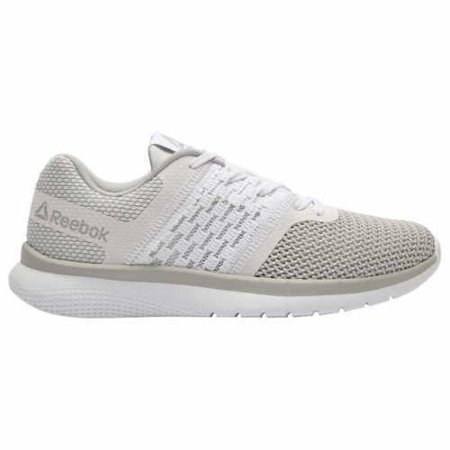 Not branded - Reebok Womens PT Prime Runner Athletic Running Shoes  (White Steel c053ee933b