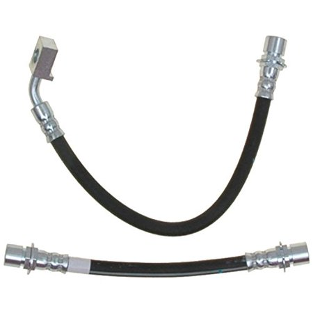 Hydraulic Hose Assembly - ACDelco 18J4770 Professional Rear Passenger Side Hydraulic Brake Hose Assembly