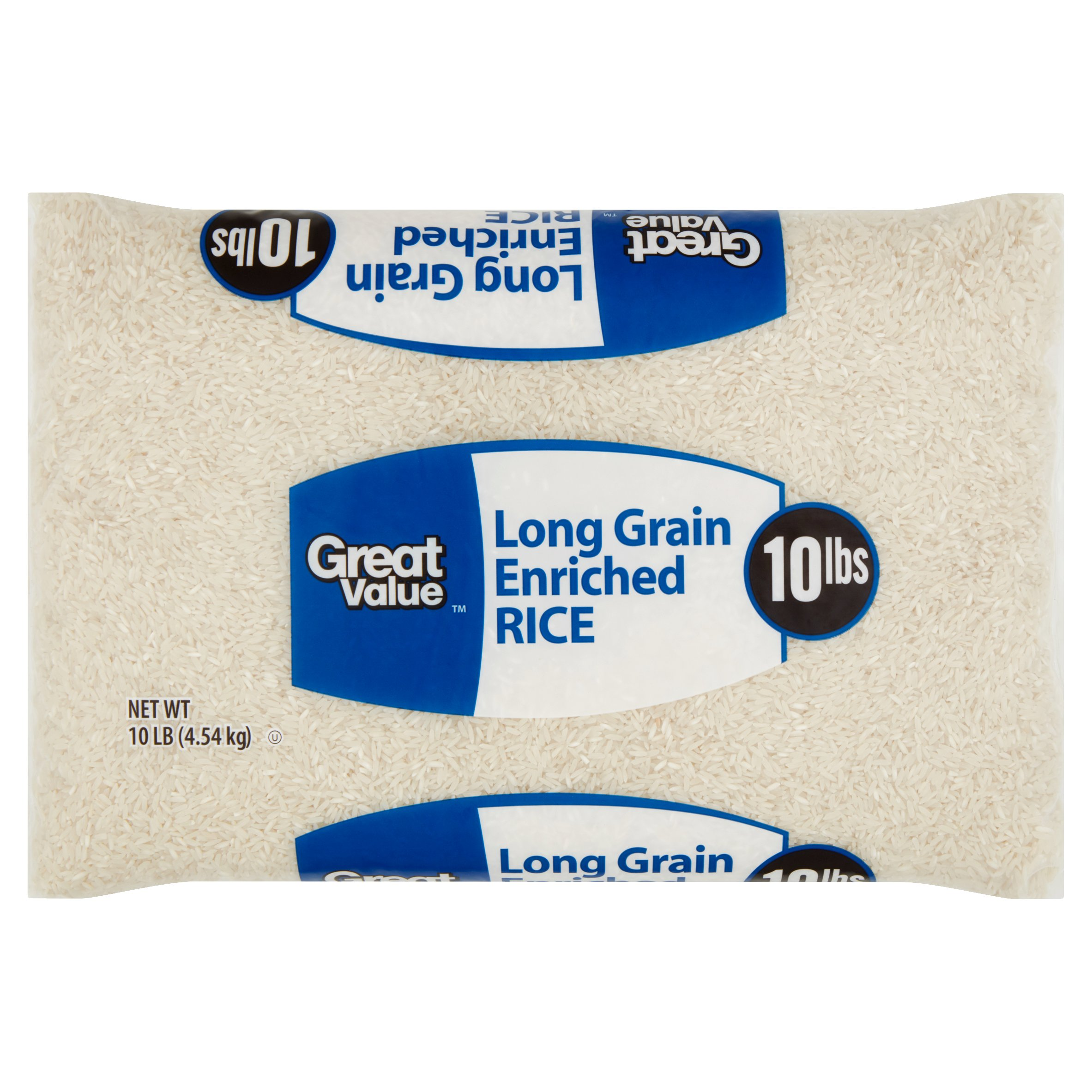 Great Value Long Grain Enriched Rice, 10 lb