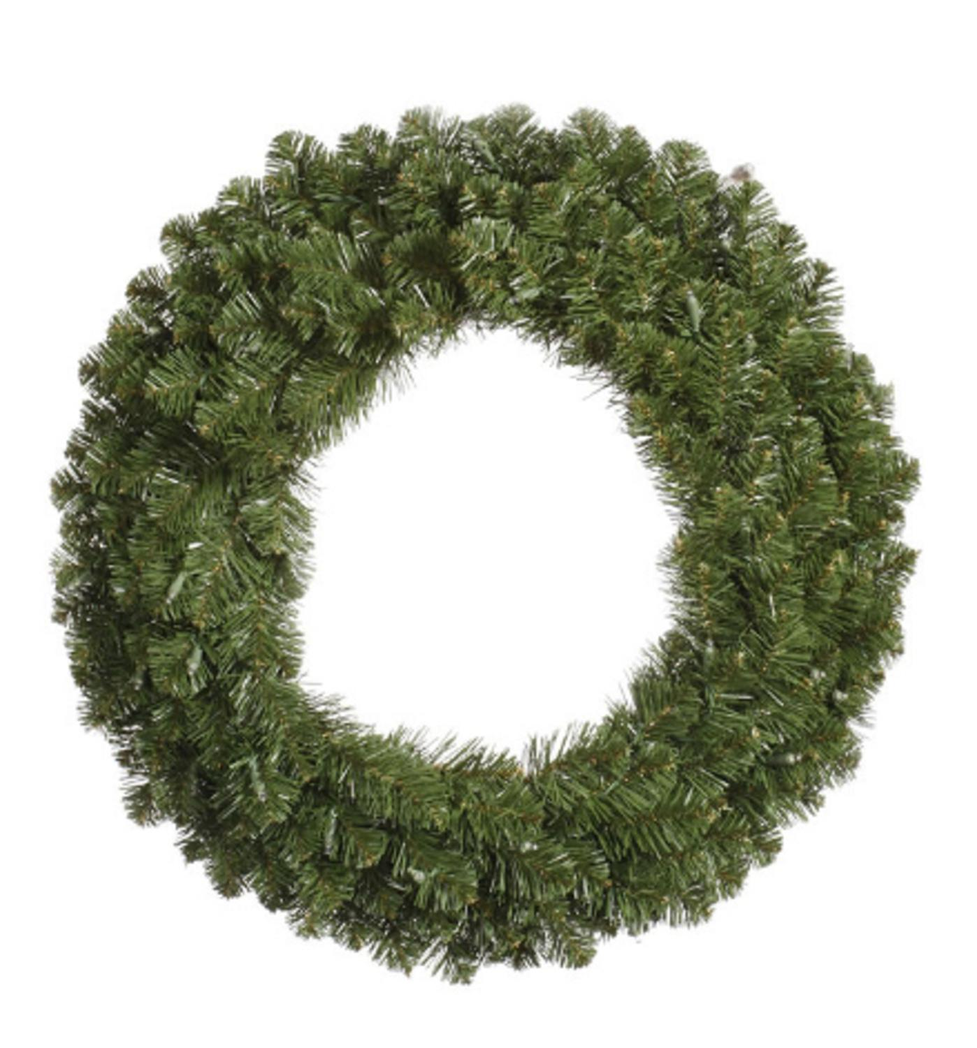 "36"" Double-Sided Grand Teton Artificial Christmas Wreath ��� Unlit"