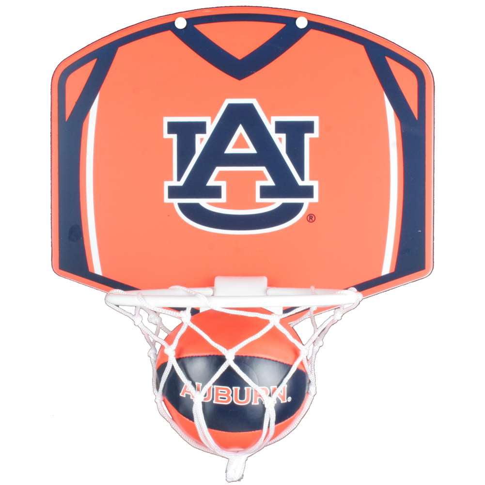 Auburn Tigers Mini Basketball And Hoop Set
