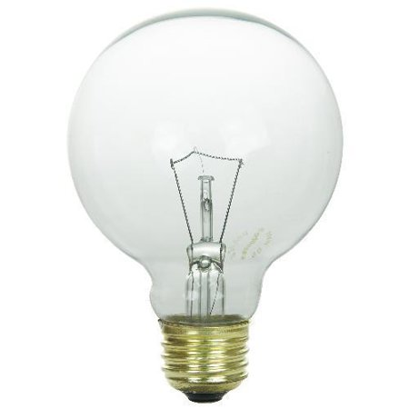 SUNLITE 25W 120V Globe G25 E26 Incandescent Light Bulb