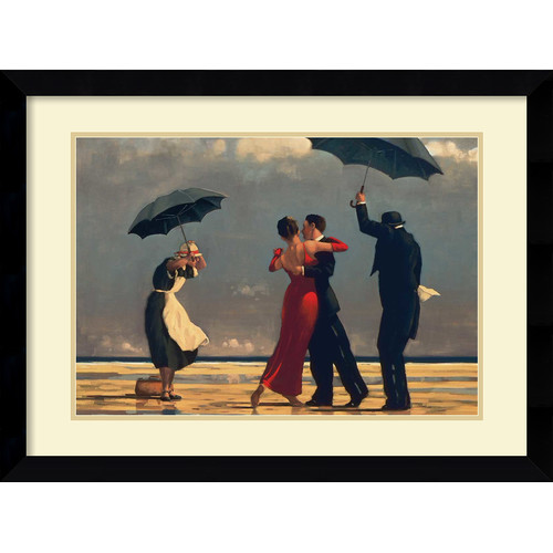 Amanti Art 'The Singing Butler' by Jack Vettriano Framed Painting Print
