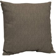 Arden Outdoors 21 x 21 in. Dining Pillow Back, Brown Woven