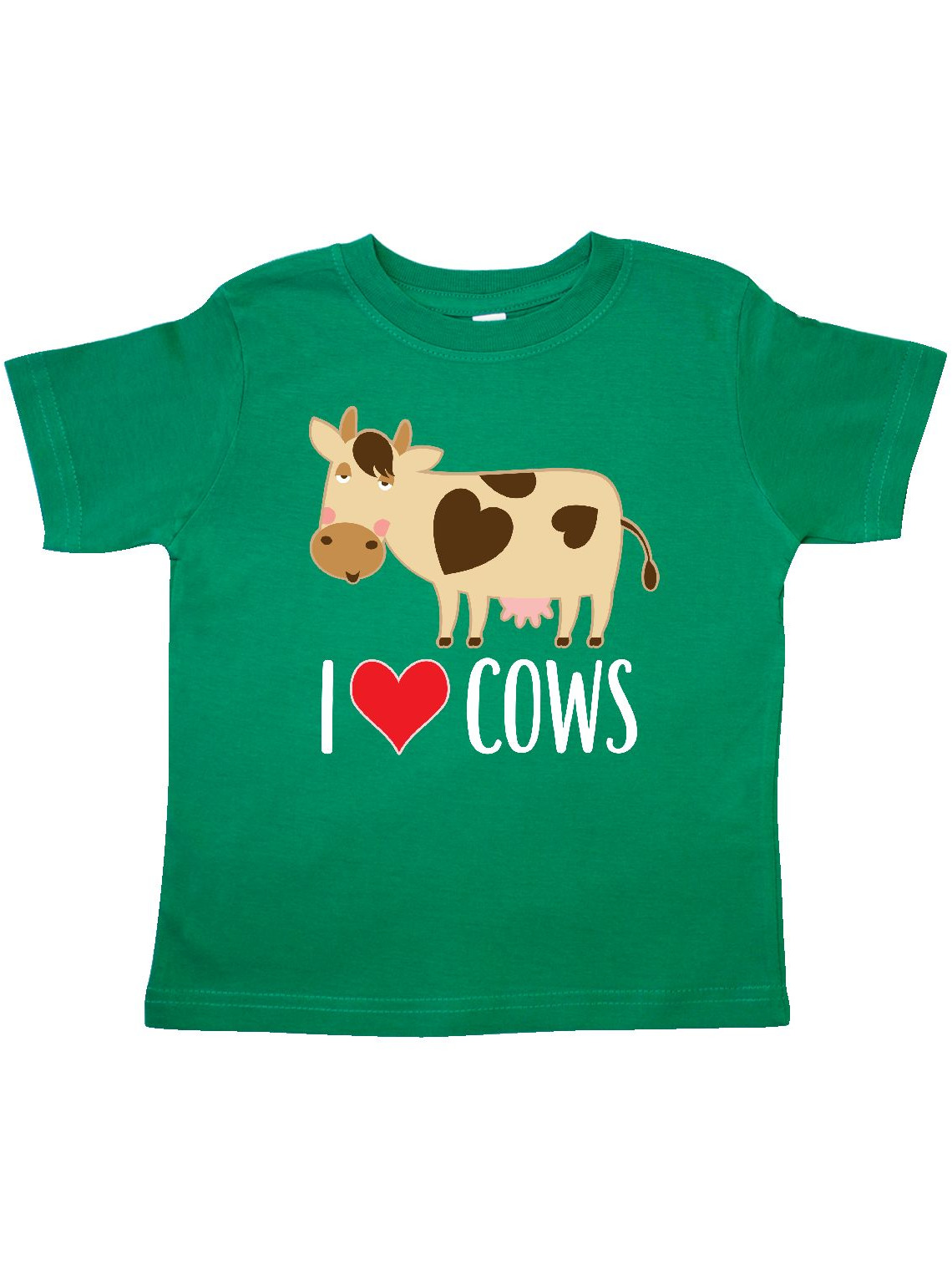 I Love Cows Dairy Farmer Toddler T-Shirt