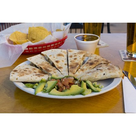 LAMINATED POSTER Mexican Food Food Plate Mexican Avocado Dip Poster Print 24 x - Dipped Pears