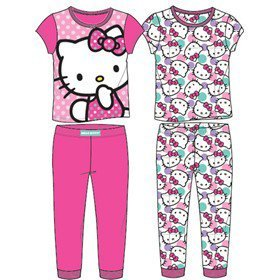 Hello Kitty Baby Girls Icon 4Pc Pajama Pant Set, Pink, 24 Months