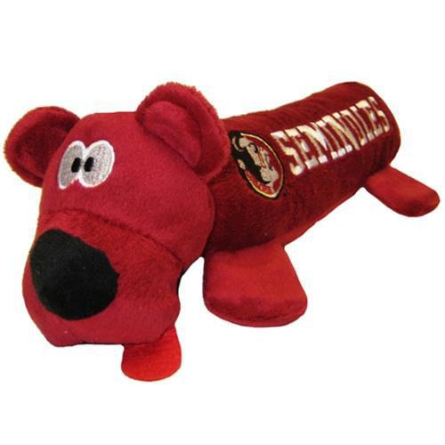Florida State Seminoles Plush Tube Dog Toy