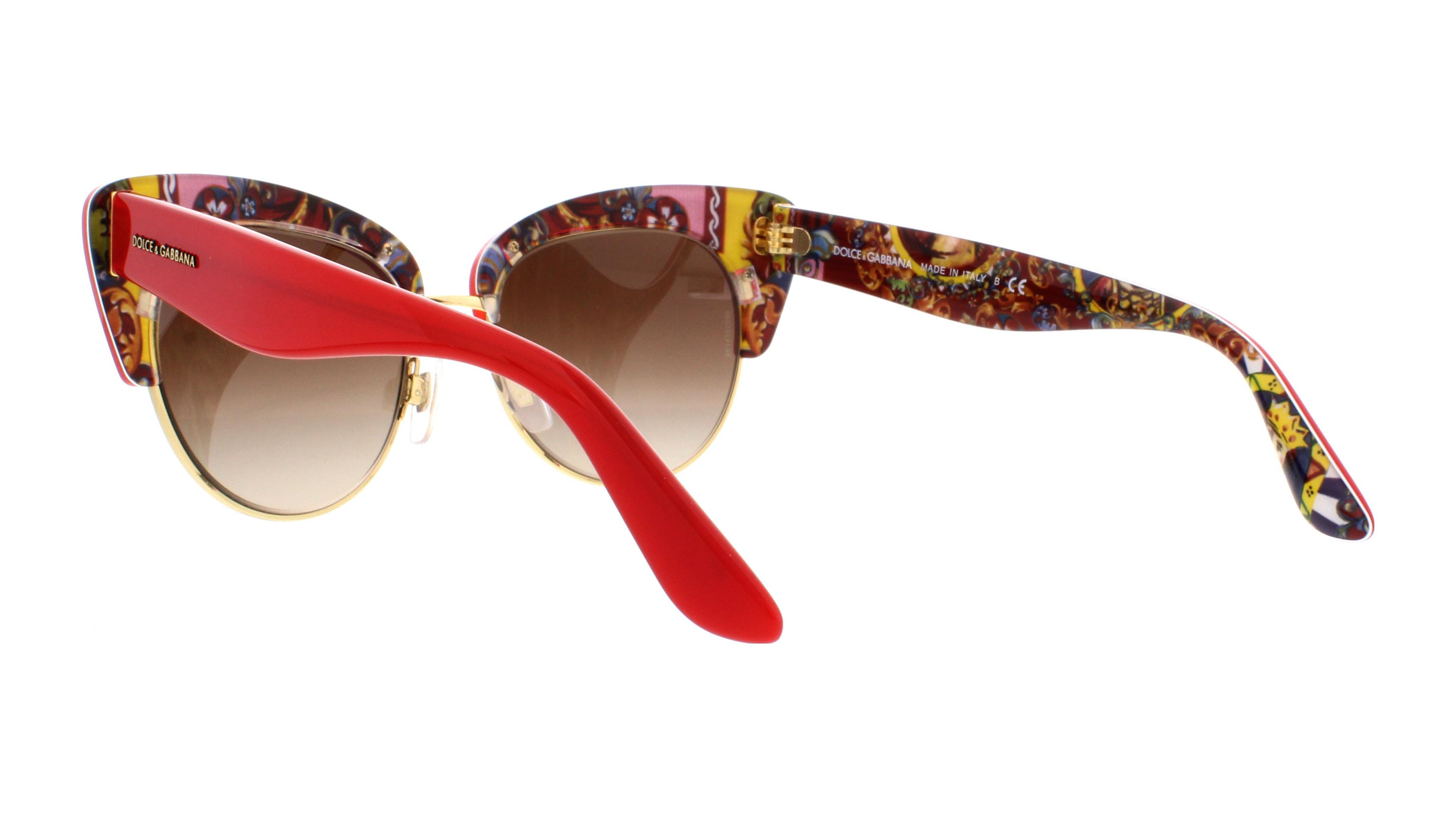 d7163a5fc8b DOLCE   GABBANA - DOLCE   GABBANA Sunglasses DG4277 303413 Top Red   Handcart 52MM - Walmart.com