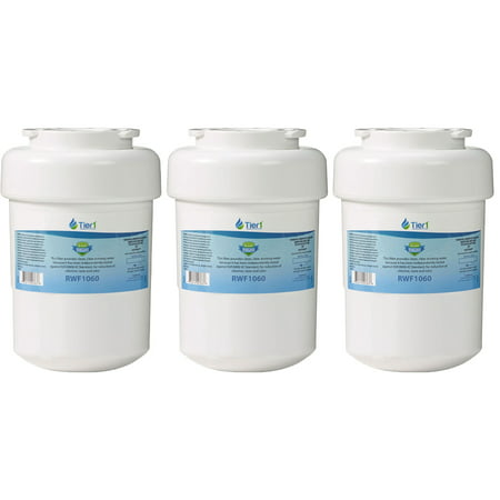 Tier1 Replacements for GE MWF, MWFP, GWF, 46-9991 Refrigerator Water Filter (3 Pack)