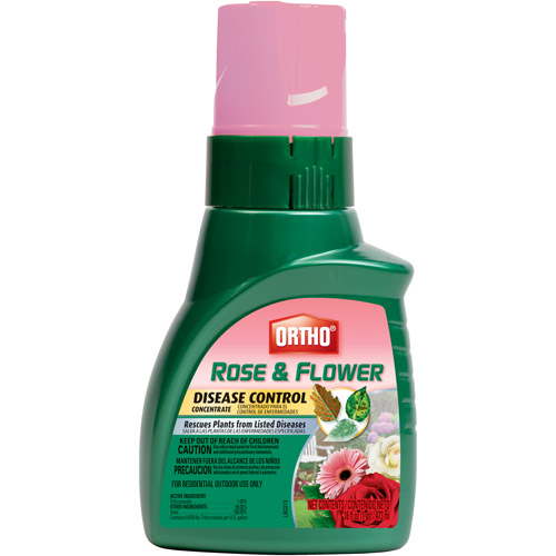 Ortho Rose and Flower Disease Control Concentrate, 16 oz