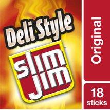 Jerky & Dried Meats: Slim Jim Deli Sticks