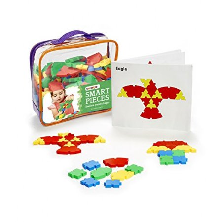 Twinkle Me - Educational Smart Interlocking Toy Creative Plastic Puzzle Pieces. Great for Occupational Therapy, Preschool Toys and Fine Motor Skill Development. 1:1 Scale Instruction Booklet (Halloween Puzzles For High School Students)
