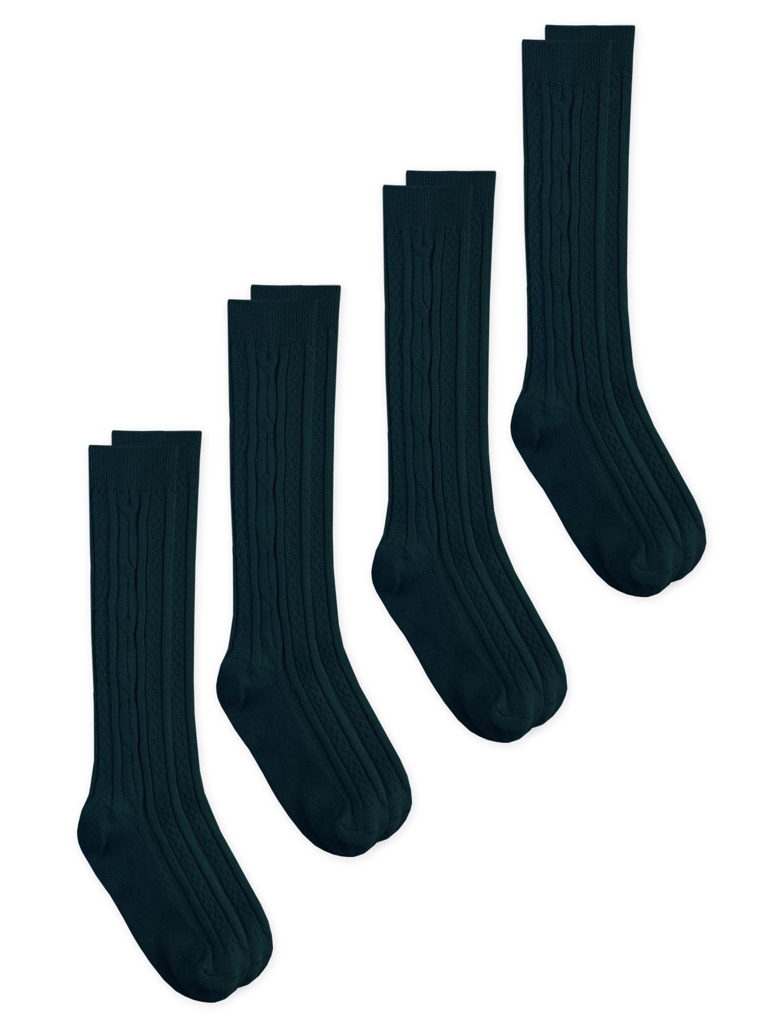 High Elasticity Girl Cotton Knee High Socks Uniform Bumblebee Pattern Women Tube Socks