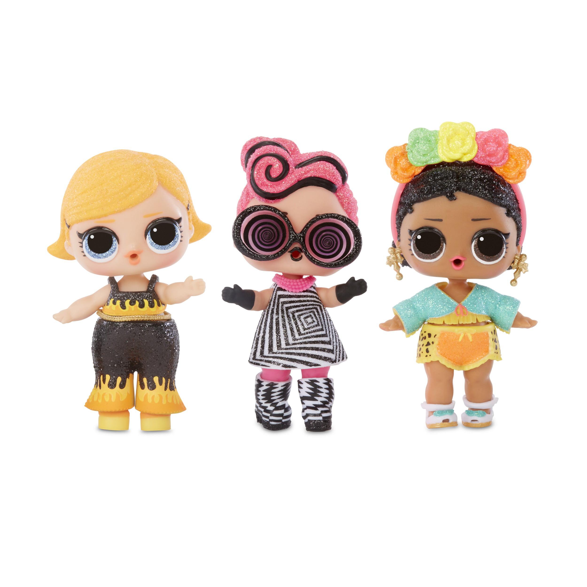 NEW Lol Surprise Lights Glitter Dolls Set Of 2 Surreal Bebe and Yacht B.B L.O.L