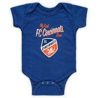 FC Cincinnati Newborn & Infant My New First Bodysuit - Blue