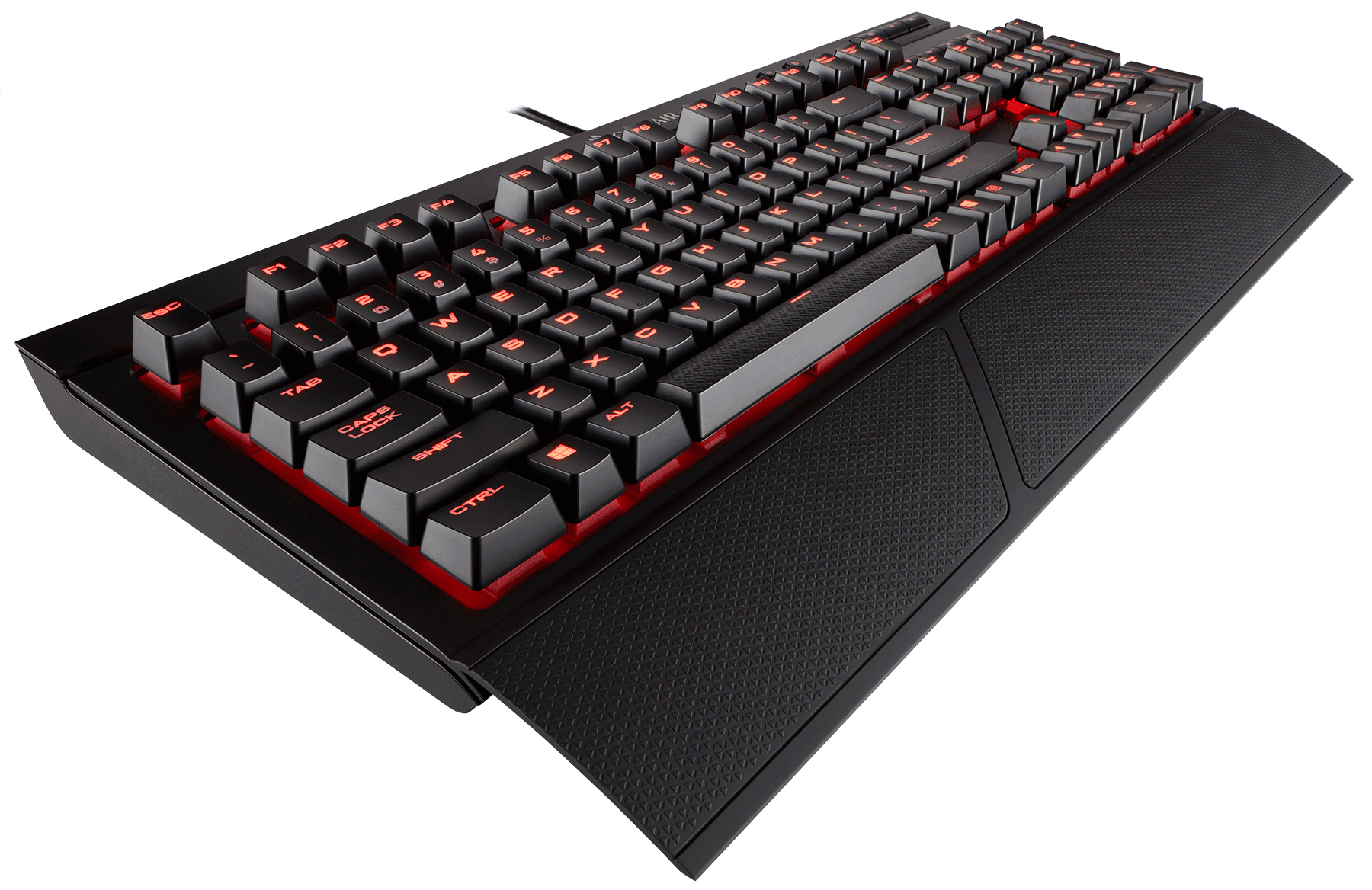 Corsair Gaming K68 Mechanical Keyboard, Backlit Red LED, Cherry MX Red by Corsair