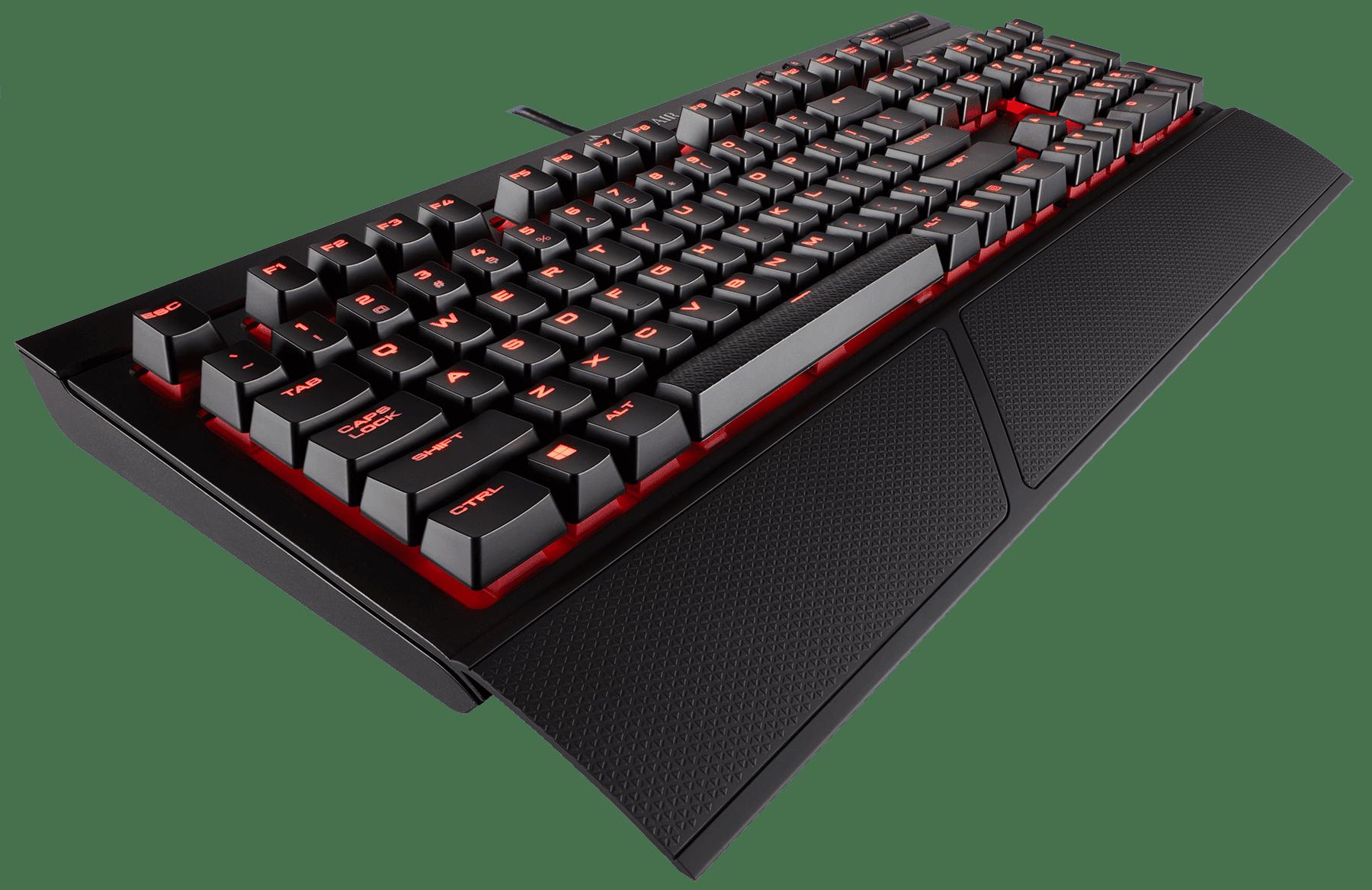 Corsair Gaming K68 Mechanical Keyboard, Backlit Red LED, Cherry MX Red - Walmart.com - Walmart.com