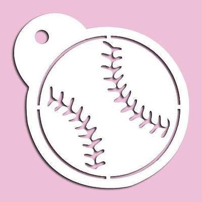 Cheap Baseball (Baseball Stencil)