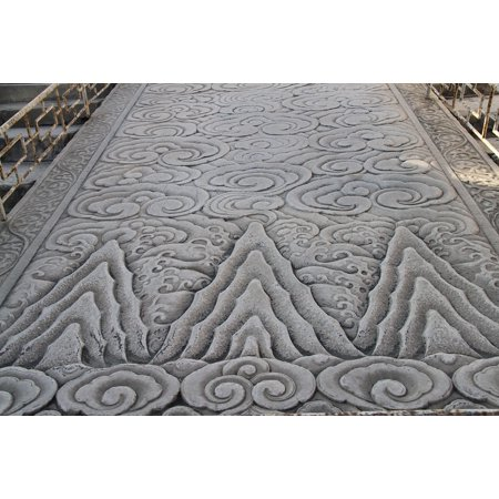 LAMINATED POSTER Sculpture Beijing Carved Stone Poster Print 24 x