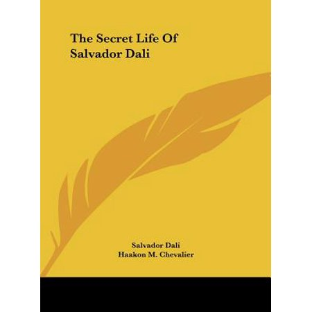 Salvador Dali Dish - The Secret Life of Salvador Dali
