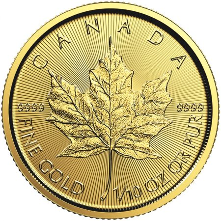 2019 RC Gold Maple 1/10 oz Coin