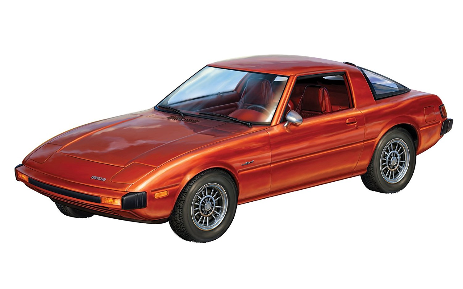 Mazda RX-7 2'n1 Plastic Model Kit, Add this smooth ride to your model collection by... by