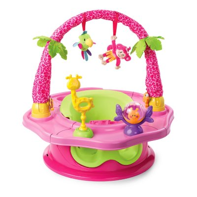 Summer Infant Deluxe SuperSeat Island Giggles - Girl - (Baby Bouncers; Jumpers & Swings)