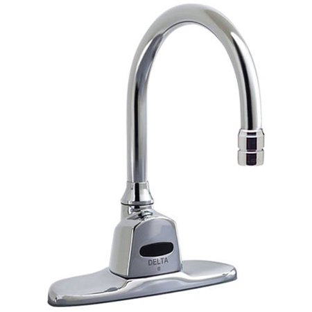 Delta 1500t3430 R3 Commercial Single Hole Hardwired Motion Activated Lavatory Faucet With