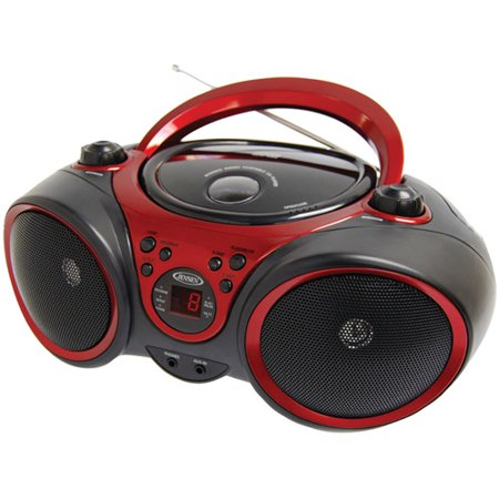 Jensen Cd 490 Portable Stereo Cd Player With Am Fm Stereo