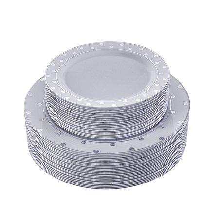 Dots Dinnerware Set - Silver Spoons 1835X2 Dinnerware Set 10.25