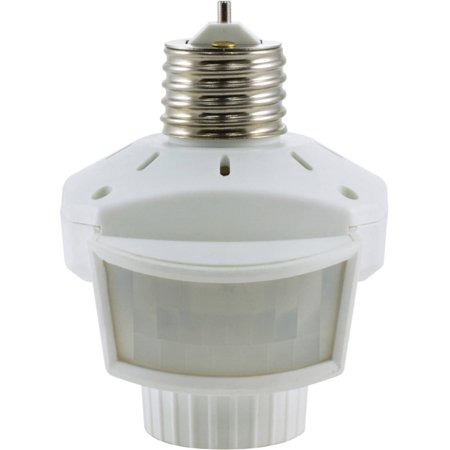 GE 10456 Indoor 120-Degree Motion-Sensing Light Control