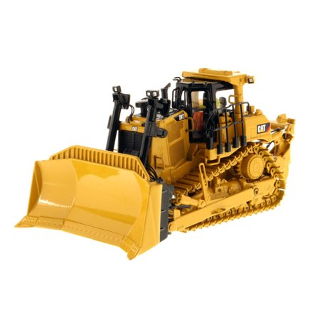 "Cat Caterpillar D9T Track-Type Tractor with Operator ""High Line Series"" 1/50 Diecast Model by Diecast Masters"