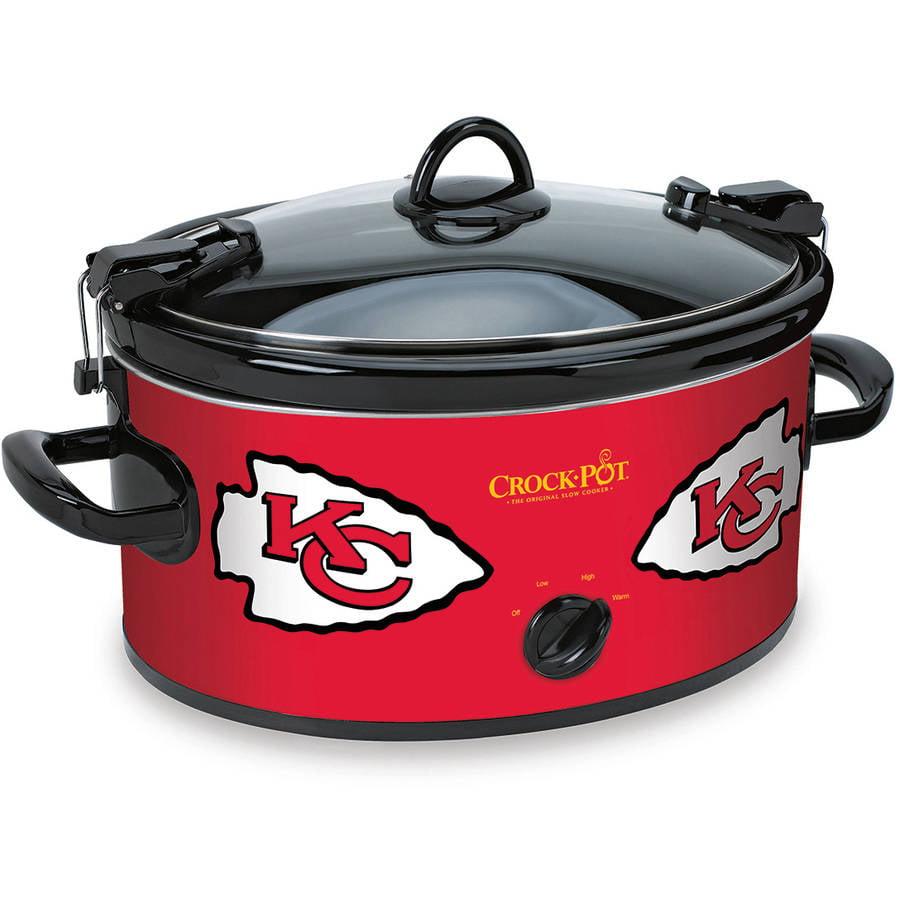 Crock-Pot NFL 6-Quart Slow Cooker, Kansas City Chiefs